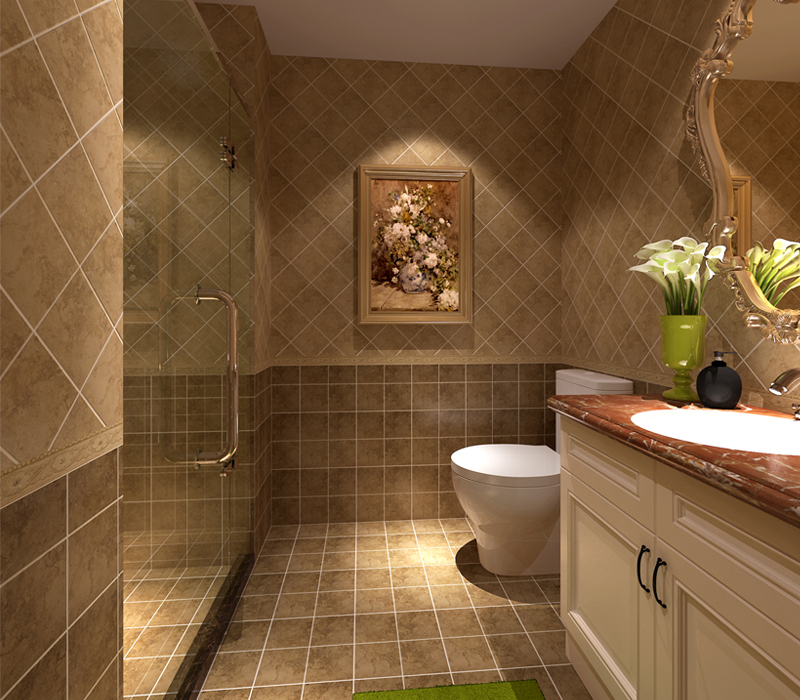 卫生间图片来自蔷薇朵朵-粒儿在欧美风格的万年花城的分享