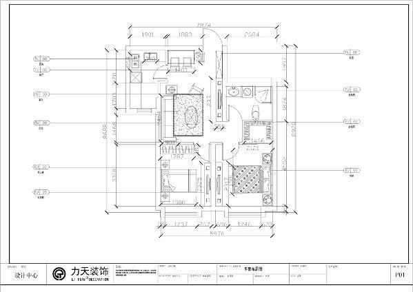 一入户,首先进入我们视觉空间的是厨房与客餐厅,厨房客餐厅的一体化,厨房空间足够大,卧室的空间都能得到合理的运用。卫生间在主卧的对面,活动的整体空间足够大,户型整体空间规整、齐全。