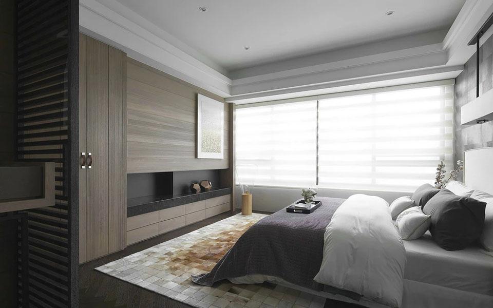 装修 后现代 三居室 三房两厅 卧室图片来自壹品装饰在格兰郡的分享