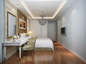 田园 小清新 装修 设计 卧室图片来自北京合建高东雪在116平现代田园风的分享