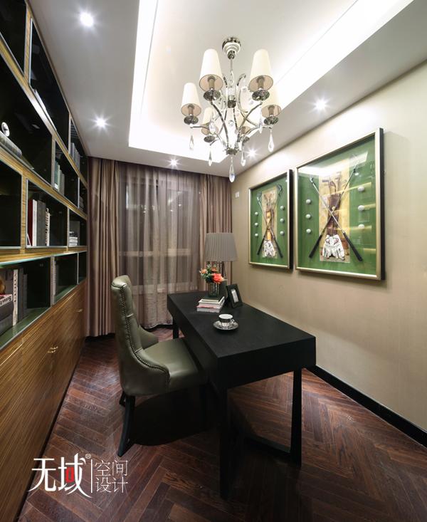 简约 欧式 三居 小资 白领 收纳 书房图片来自无域空间设计刘艺在《暗香》的分享