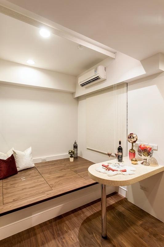 新古典 简约 白色 时尚 装修 卧室图片来自北京合建高东雪在90平新古典时尚公寓的分享