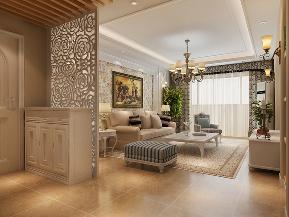 田园 小清新 装修 设计 客厅图片来自北京合建高东雪在116平现代田园风的分享