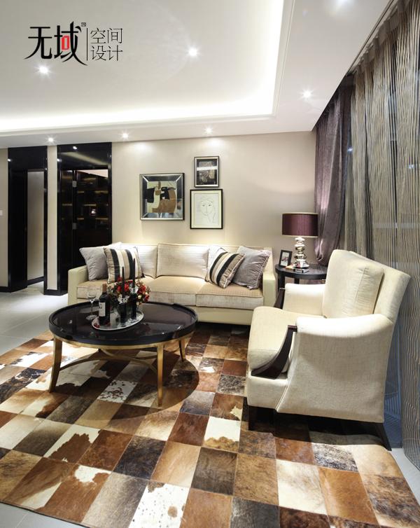 简约 欧式 三居 小资 白领 收纳 客厅图片来自无域空间设计刘艺在《暗香》的分享