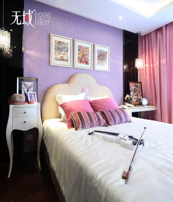 简约 欧式 三居 小资 白领 收纳 卧室图片来自无域空间设计刘艺在《暗香》的分享