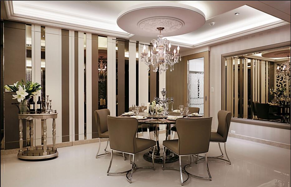混搭 餐厅图片来自日升装饰公司在曲江诸子阶168平米混搭的分享