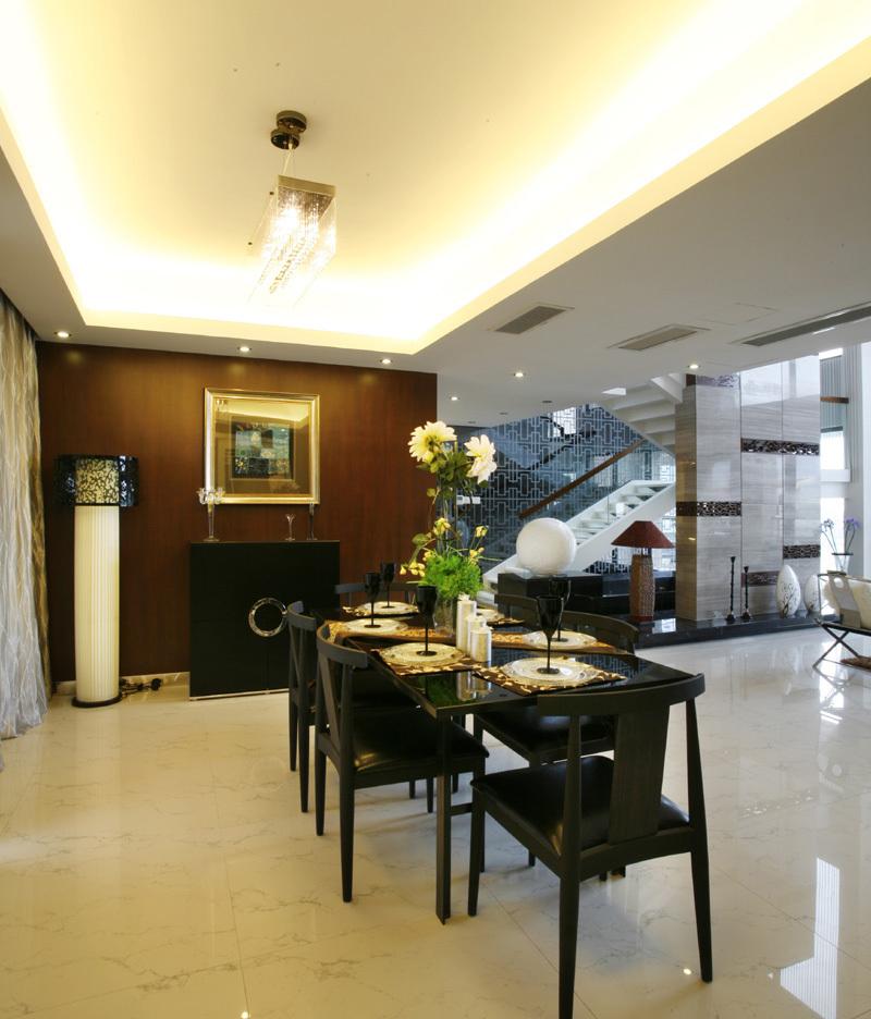 餐厅图片来自二十四城装饰重庆分公司在金科中央御院的分享