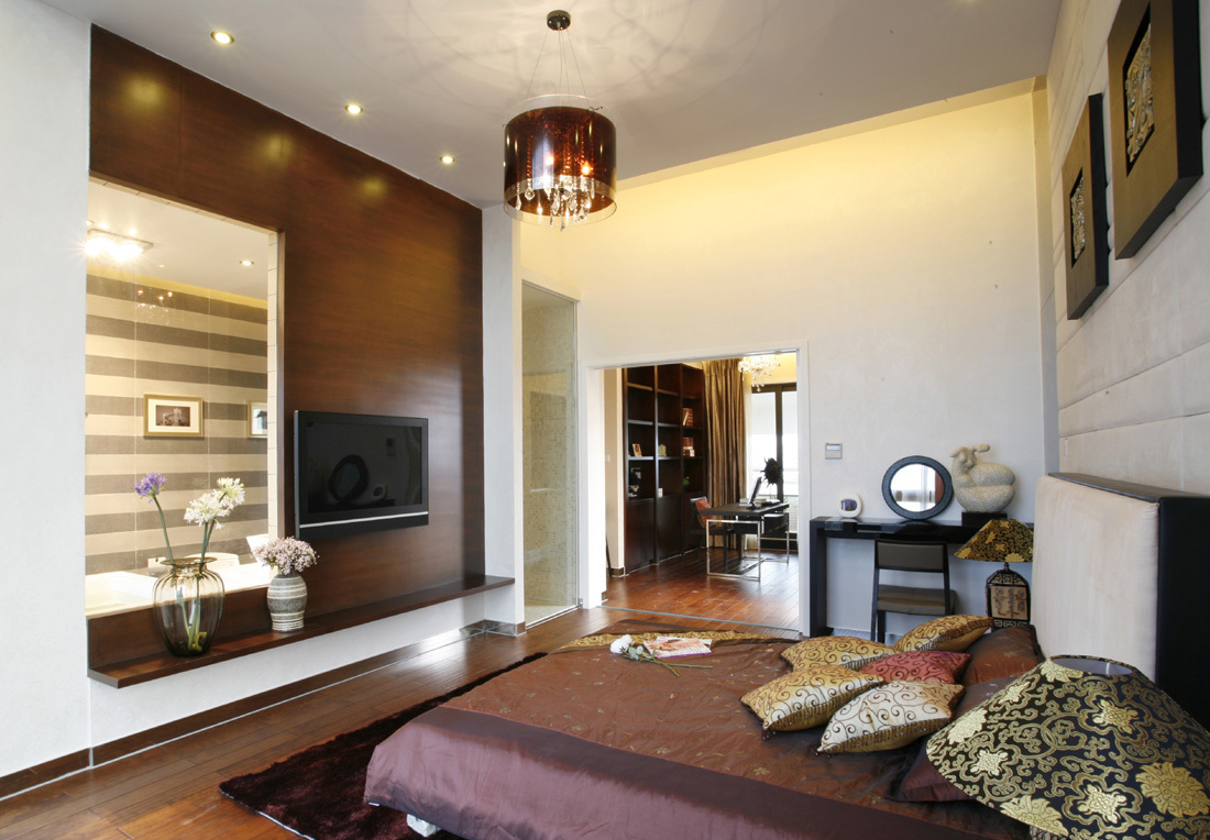 卧室图片来自二十四城装饰重庆分公司在金科中央御院的分享