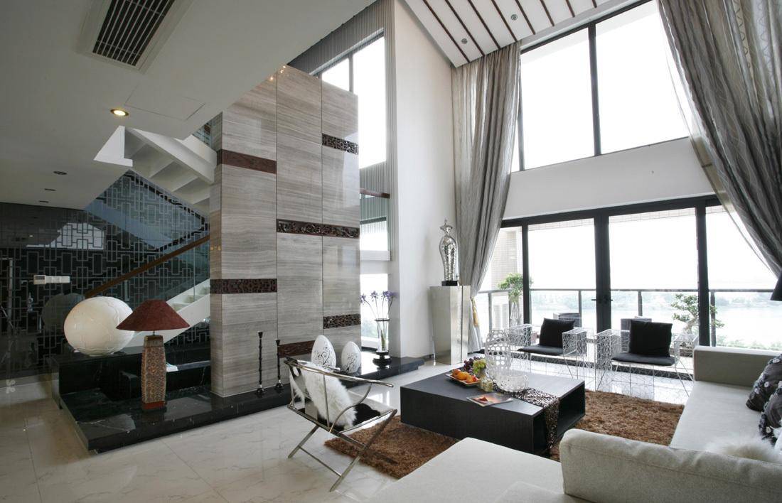 客厅图片来自二十四城装饰重庆分公司在金科中央御院的分享
