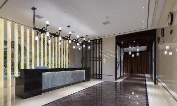 新中式酒店·坐看山湖月色