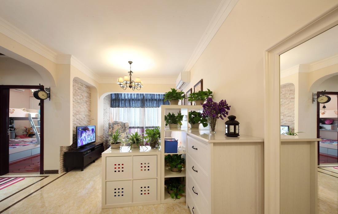 客厅图片来自二十四城装饰重庆分公司在康田蔚蓝海的分享