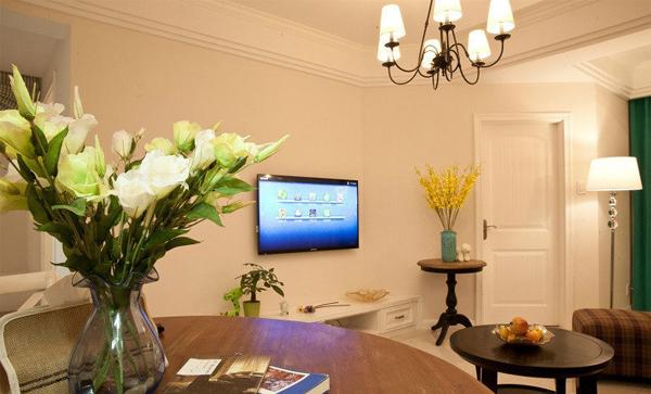 欧式 三居 客厅图片来自北京大成日盛装饰设计在欧式 三居室 知春路案例欣赏的分享