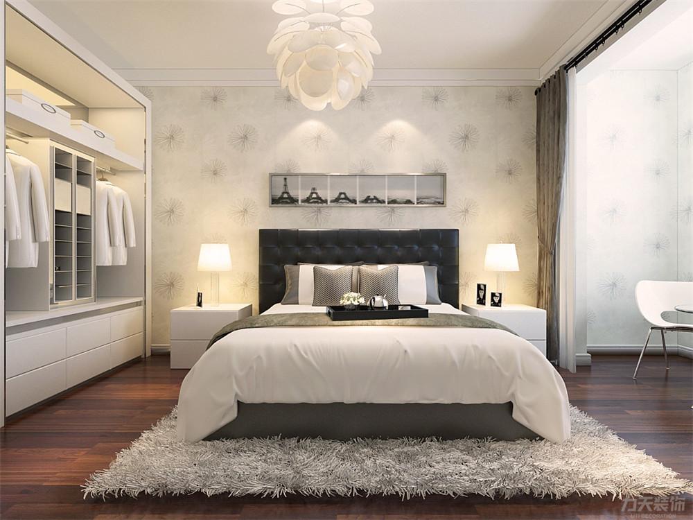 三居 简约 收纳 白领 80后 小资 卧室图片来自阳光力天装饰在力天装饰-金地艺境105㎡的分享