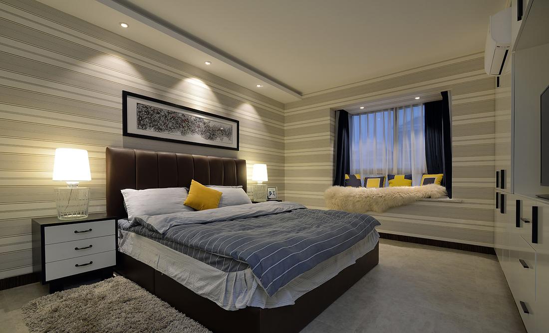 卧室图片来自二十四城装饰重庆分公司在金辉城江城里的分享