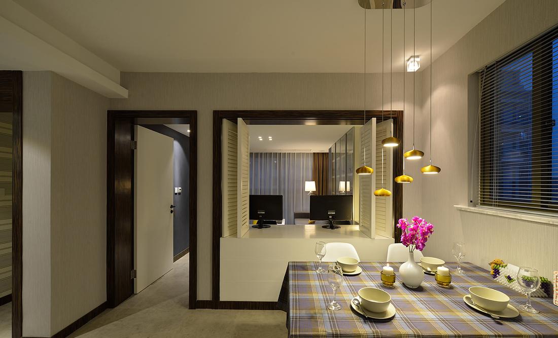 餐厅图片来自二十四城装饰重庆分公司在金辉城江城里的分享