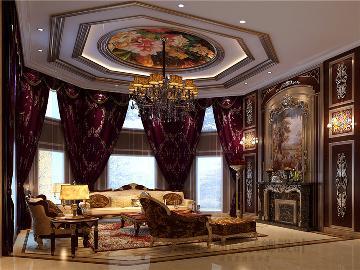 圣彼得堡典雅自然新古典欧式别墅