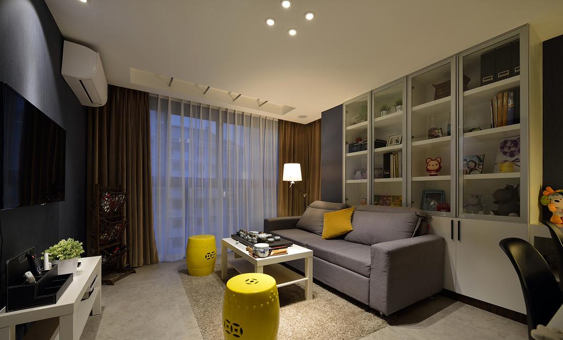 客厅图片来自二十四城装饰重庆分公司在金辉城江城里的分享