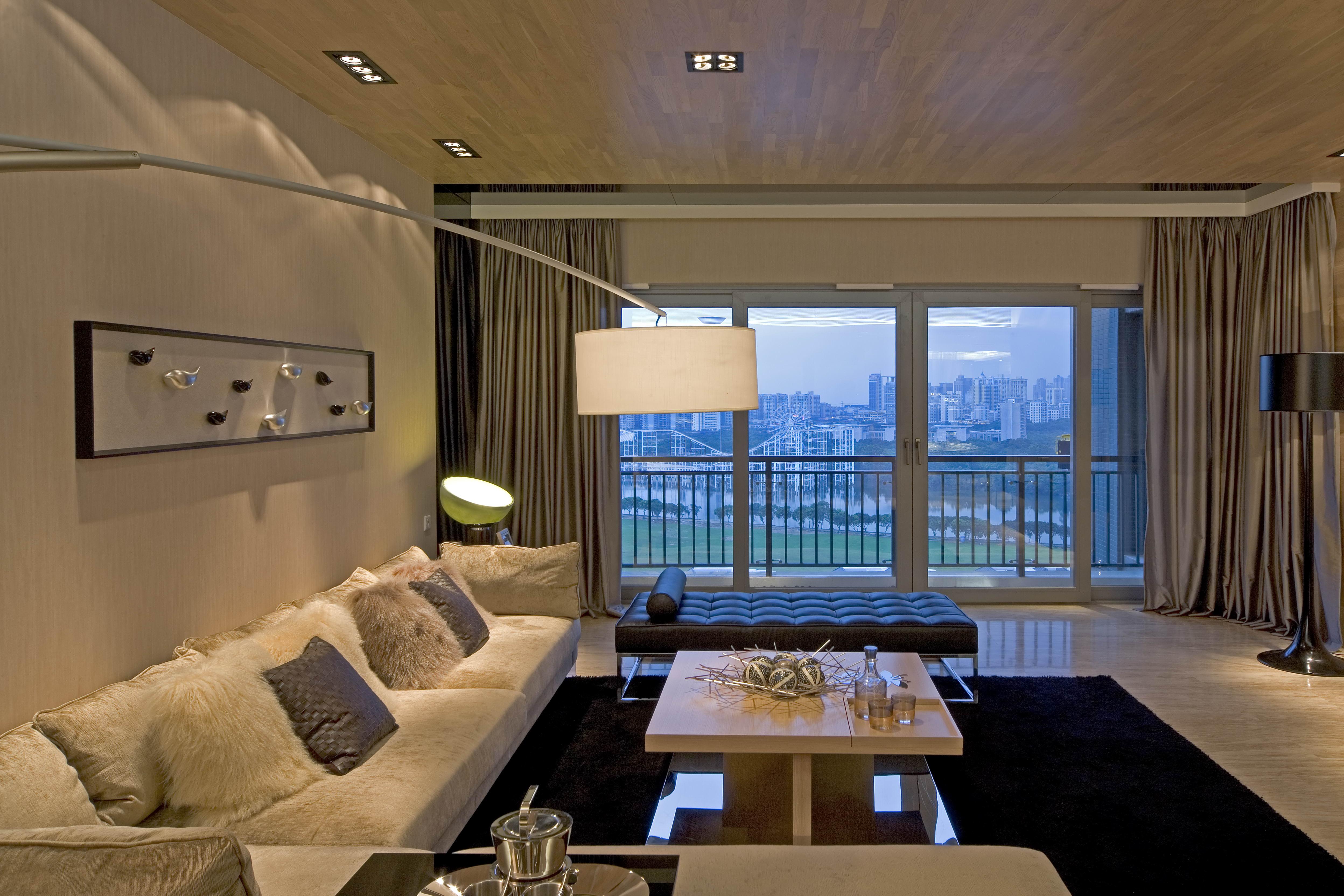 客厅图片来自二十四城装饰重庆分公司在协信阿卡迪亚-4的分享