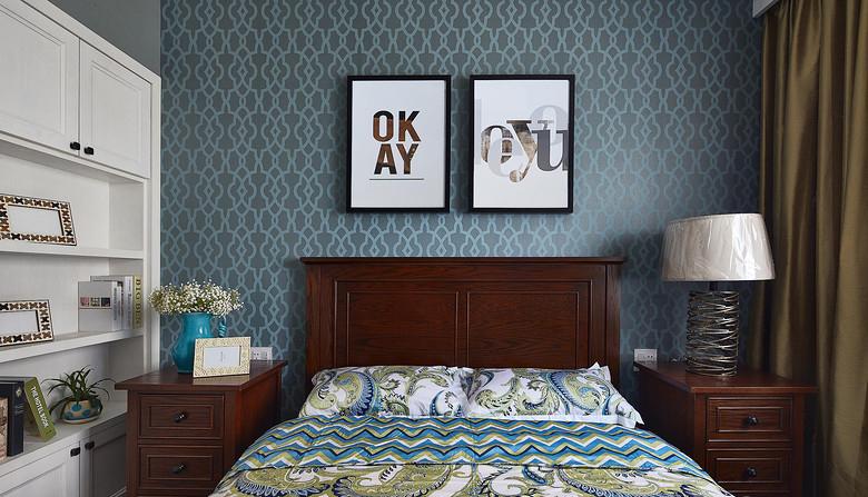 卧室图片来自家装大管家在清新舒适生活 125平美式雅致3居的分享