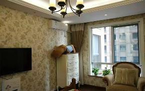 简约 田园 美式 三居 复古 实木 温馨 清新 客厅图片来自武汉生活家在国际百纳 99平 美式田园的分享