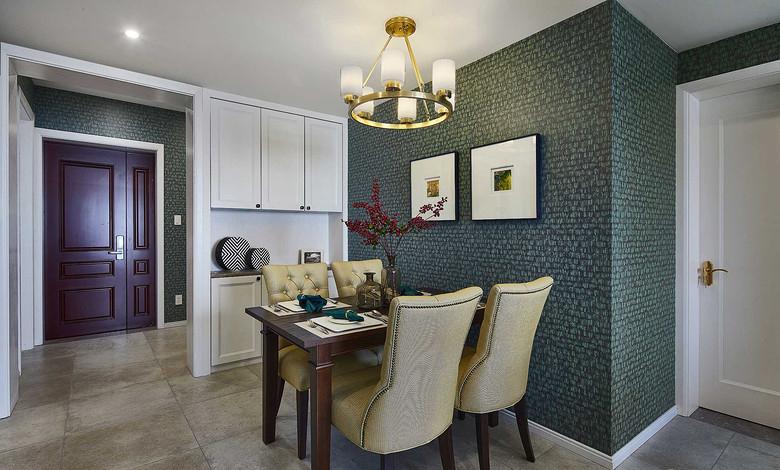 餐厅图片来自家装大管家在清新舒适生活 125平美式雅致3居的分享