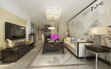 两居室新中式风格