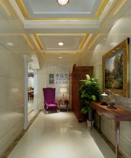 申远 爱法奥朗 别墅 欧式 简欧 装修 设计 张咏 玄关图片来自用户5616949510在爱法奥朗庄园  欧式风的分享