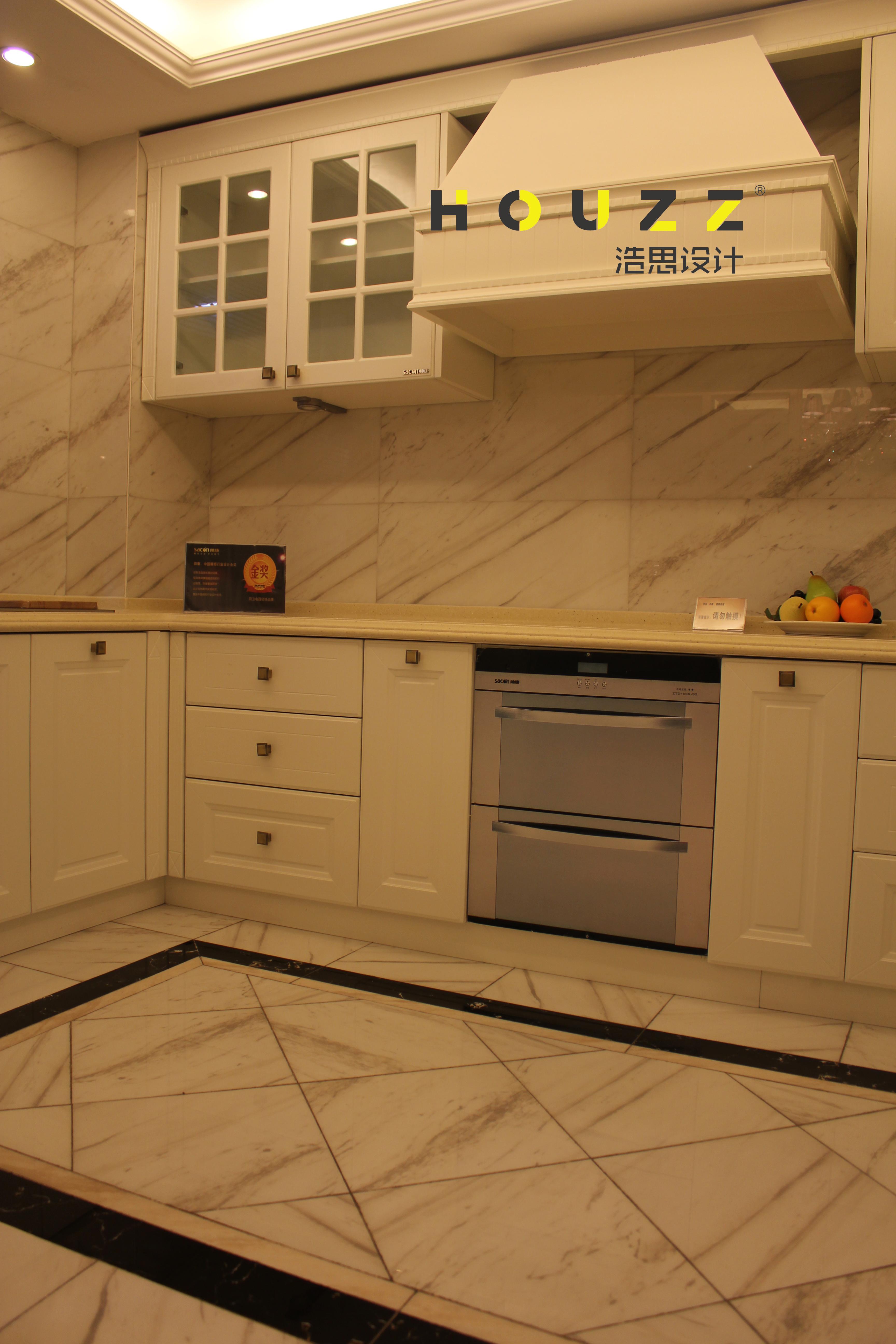厨房图片来自浩思设计在欧式风格的分享