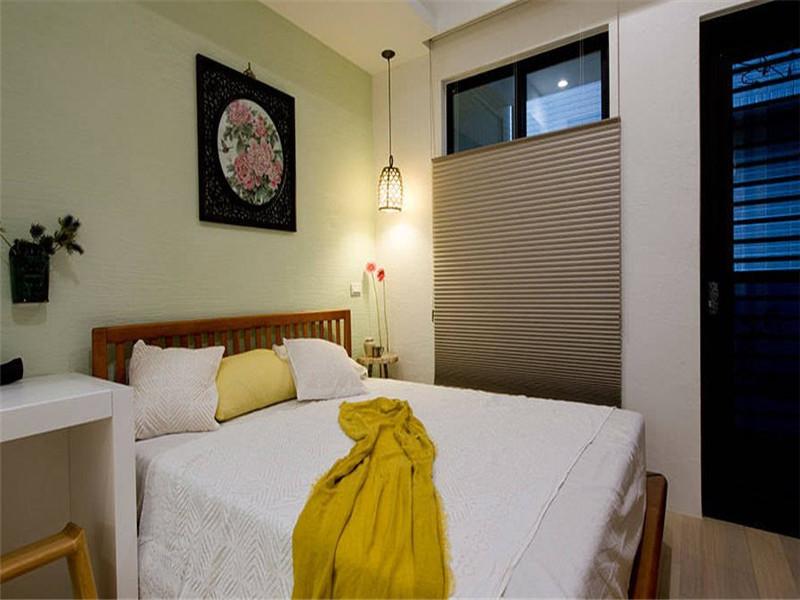 西安装修 福尚装饰 一室一厅 室内设计 卧室图片来自西安福尚装饰家装体验馆在盛龙广场一居简约装修的分享