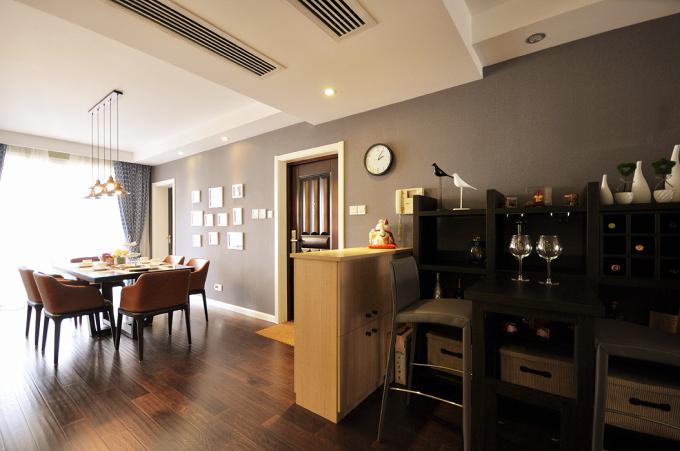 二手房 现代 餐厅图片来自北京大成日盛装饰设计在大成现代 二手房 案例的分享