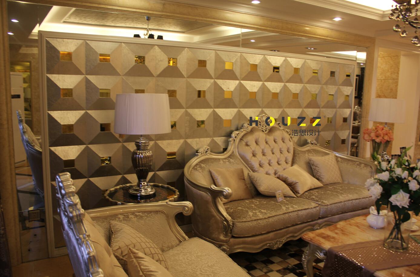 卧室图片来自浩思设计在欧式风格的分享