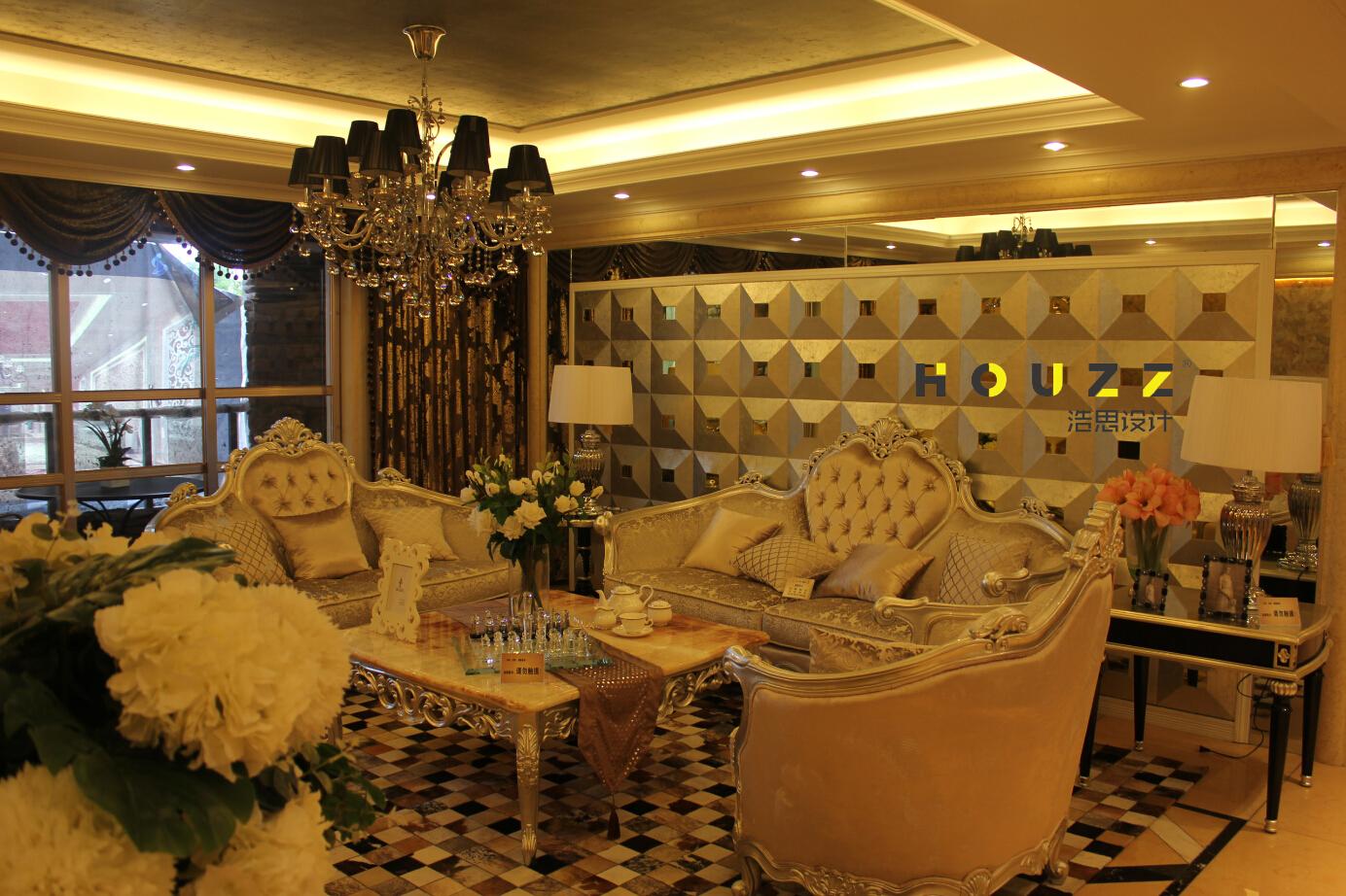 客厅图片来自浩思设计在欧式风格的分享
