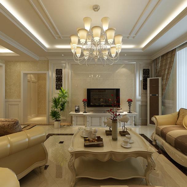 欧式 二居 客厅 卧室图片来自无情45839在欧美风格的分享
