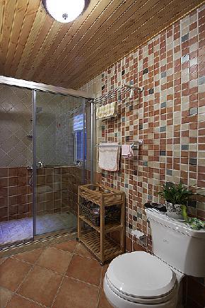田园 自然 舒适 卫生间图片来自北京合建高东雪在130平三室两厅田园风的分享