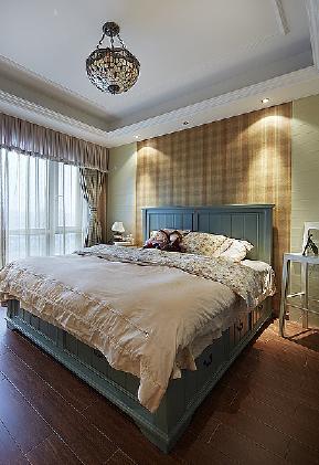 田园 自然 舒适 卧室图片来自北京合建高东雪在130平三室两厅田园风的分享