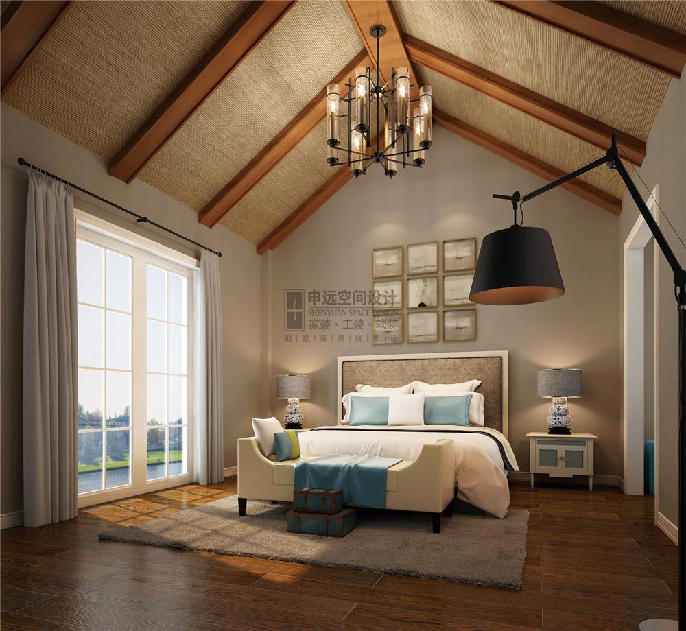 长泰东郊 申远设计 别墅 装修 美式 收纳 卧室图片来自申远-小申在长泰东郊    清新美式风的分享