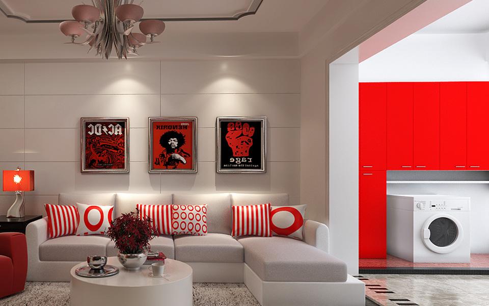 装修 装饰 家装 三居 现代 风格 客厅图片来自壹品装饰在城市星空的分享