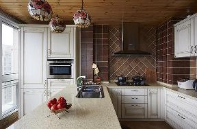 田园 自然 舒适 厨房图片来自北京合建高东雪在130平三室两厅田园风的分享