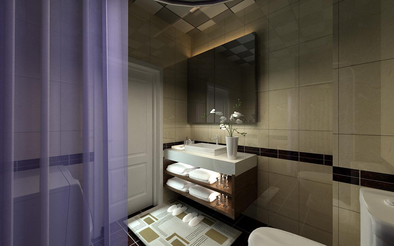 四居 后现代风格 优品天地 卫生间图片来自百家设计小刘在优品天地140平后现代风格的分享