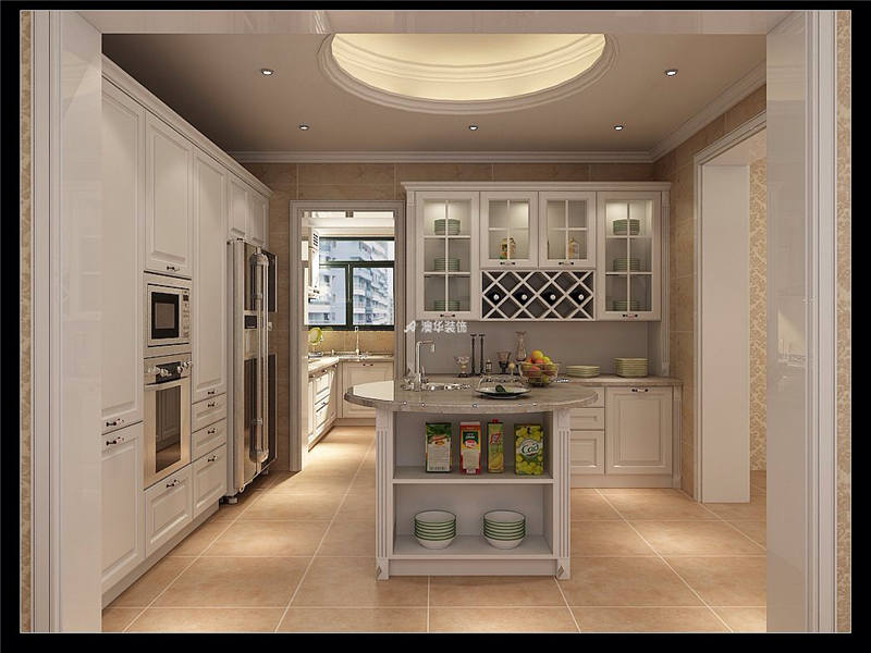 厨房图片来自代徐芳在欧式新古典的分享