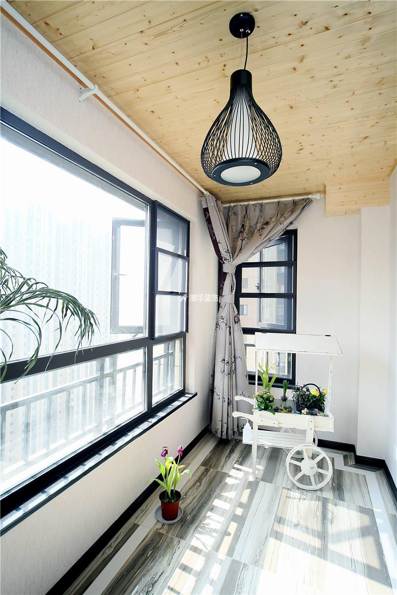 阳台图片来自代徐芳在现代混搭的分享
