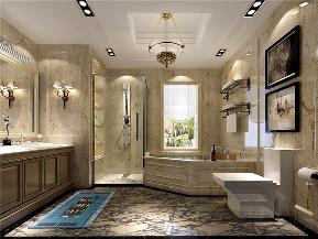 新古典 四居 白领 旧房改造 小资 金色漫香苑 卫生间图片来自沙漠雪雨在190平米典雅华贵西雅图的眷恋的分享