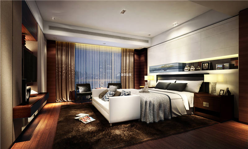 卧室图片来自代徐芳在港式风的分享