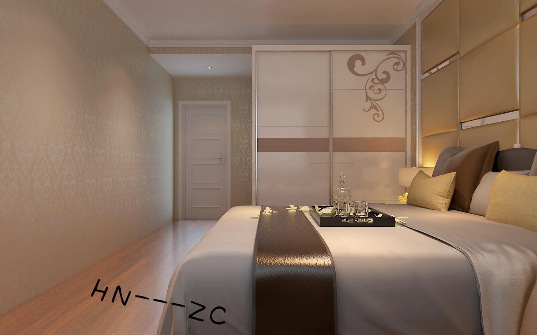 港式 三居 白领 小资 80后 卧室图片来自百家装饰-小敬在中海和平之门117港式风格的分享