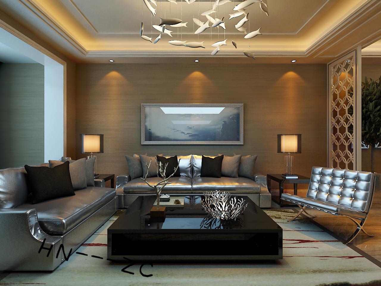 港式 三居 白领 小资 80后 客厅图片来自百家装饰-小敬在中海和平之门117港式风格的分享