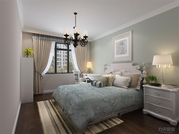 卧室配合客餐厅,让人全身心的放松。最大化以符合现代人的需求。
