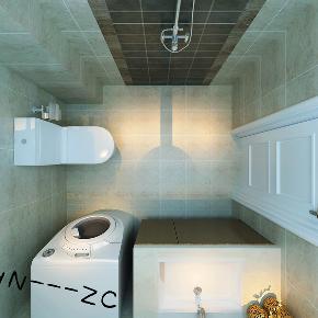 港式 三居 白领 小资 80后 卫生间图片来自百家装饰-小敬在中海和平之门117港式风格的分享