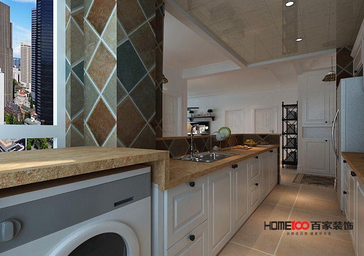混搭 三居 白领 80后 小资 厨房图片来自百家装饰-小敬在玉祥明居100平混搭风格的分享