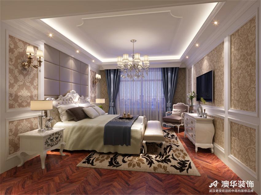 欧式 别墅 卧室图片来自澳华会所-杨敏在精致细腻欧式风的分享