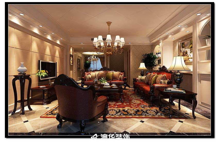 欧式 客厅图片来自澳华装饰--韩玉在欧式风格的分享